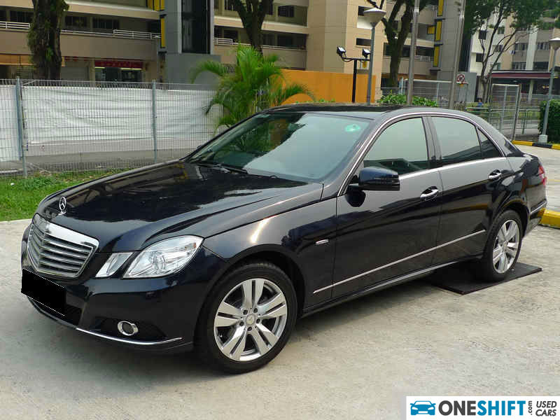 Used mercedes benz e200 cgi blue efficiency car in for Mercedes benz singapore