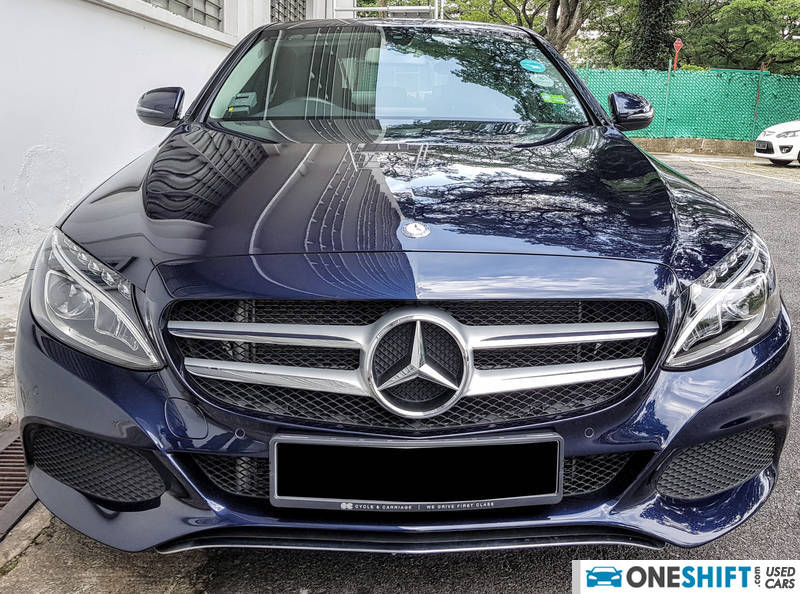Used mercedes benz c180 avantgarde car in singapore for Mercedes benz payment calculator