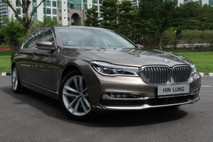 BMW 7 Series 740Le XDrive IPerformance (A)