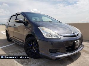 Toyota Wish 1.8A Aero Tourer (New 5-yr COE)