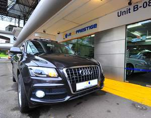 Used Audi Cars for Sale in Singapore - Oneshift com