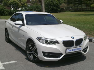BMW BMW 2 Series 218i Coupe Sport Sunroof (A)